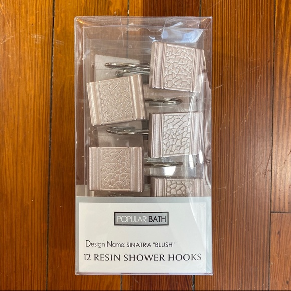 Popular Bath Other - Blush/ rose gold brand new shower curtain hooks 12